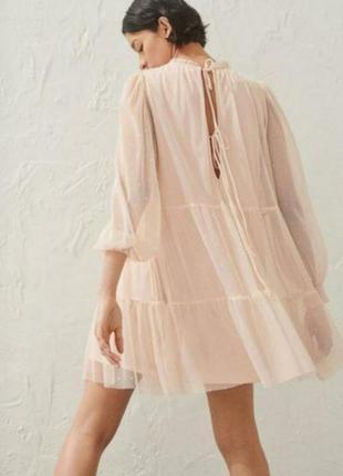 Шикарное платье h&m размер м (46-50)