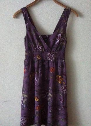 Цветочное платье от h&m