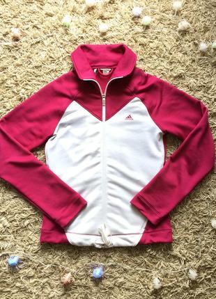Женская спортивная кофта свитшот олимпийка adidas оригинал