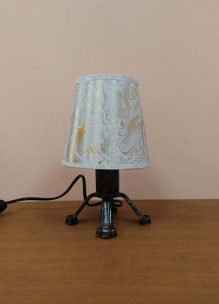 Ночник настольная лампа с абажуром
