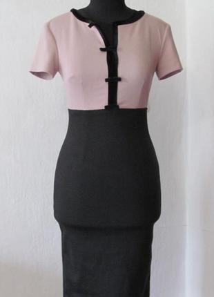 Классическое платье офис