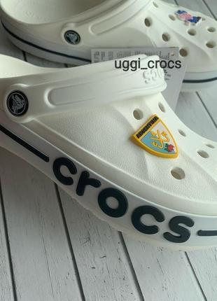 Crocs bayaband white кроксы баябенд сабо шлепки крокс .