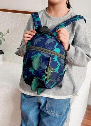 Дитячий рюкзак детский с дино сумка для мальчика девочки с динозаврами