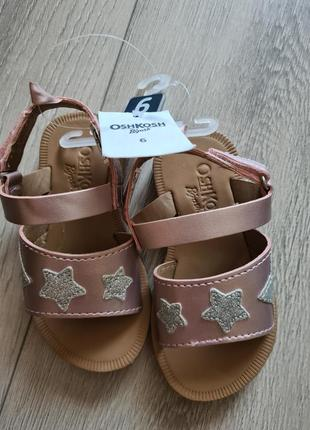 Carters oshkosh сандали
