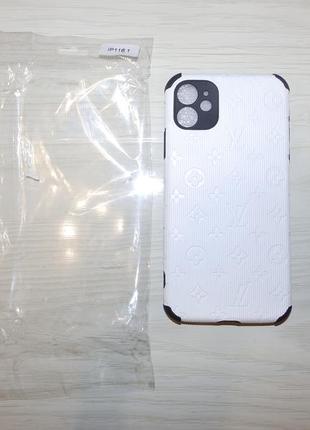 Чехол противоударный  iphone 11 6.1lv белый