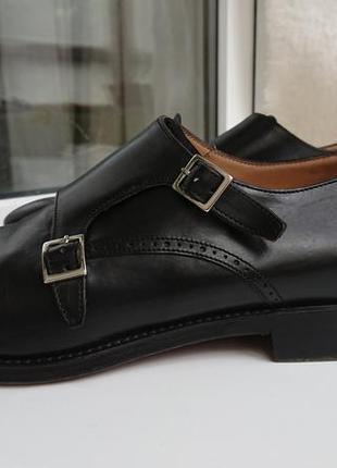 Мужские туфли - монки от торговой марки премиум-класса  navyboot