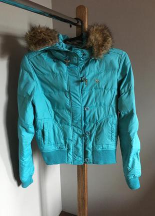 Куртка осень-зима abercrombie
