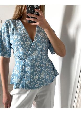 Новая шифоновая блуза primark