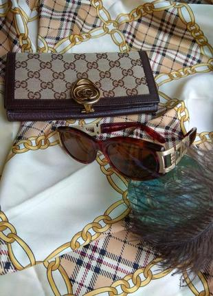 Женские винтажные очки fendi оригинал. очки винтаж fendi черепаха оригинал,  фенди