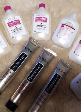 Бальзам /кондиционер для волос от краски лореаль l'oreal  loreal paris casting creme gloss.