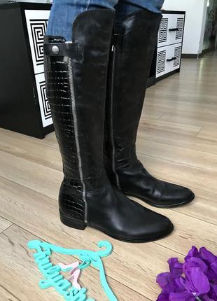 Удобные кожаные сапоги clarks оригинал