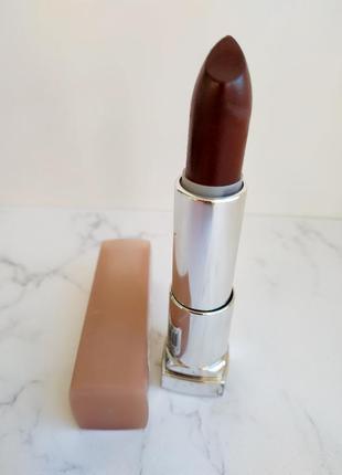 Коричнево-бордовая помада maybelline 757 naked brown