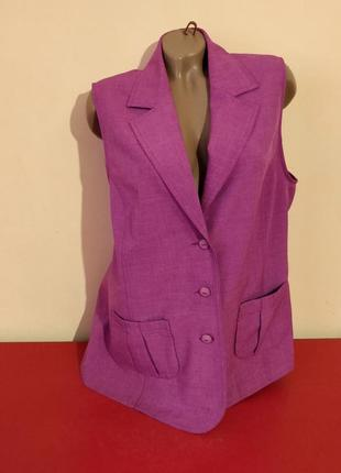 Распродажа !!! женский жакет пиджак жилет бренд setter lady