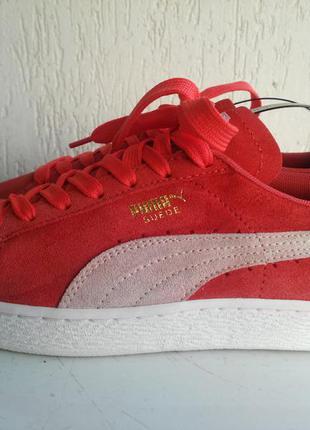 Замшевые кроссовки puma suede 39 р оригинал.
