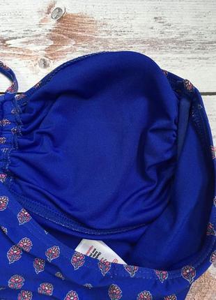 Красивый синий купальник3 фото