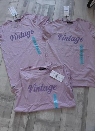 В наличие хлопковые фирменные футболки женские,размер l!