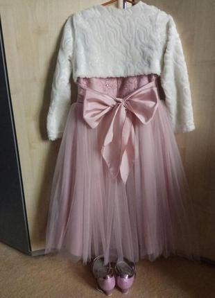 Платье на выпускной бал для маленькой принцессы