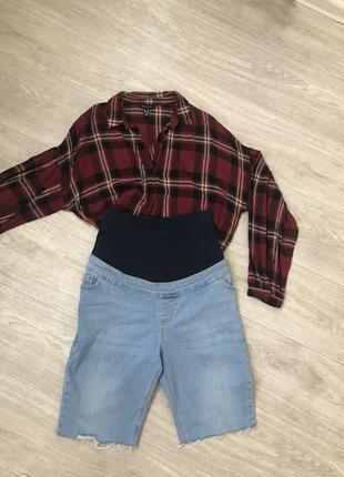 Для беременных крутые удобные шорты штаны юбки для беременных 12. 14 размера