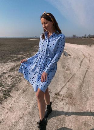 Платье в горошек ❘ фото в живую