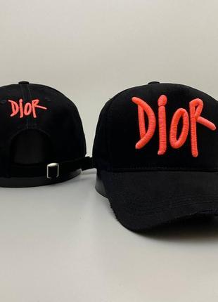 Кепка унисекс dior 🧢