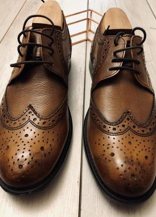 Новые мужские туфли(броги) redherring (42)