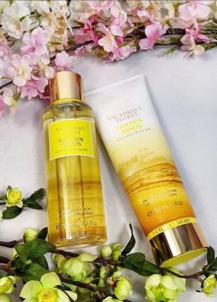 Victoria's secret golden sands fragrance mist2 фото