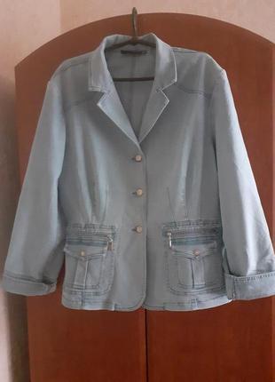 Джинсовая куртка lafei-nier