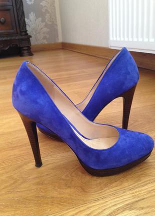 Туфли замшевые cole haan