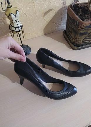 Мягусенькие мега удобные кожаные туфли лодочки footglove