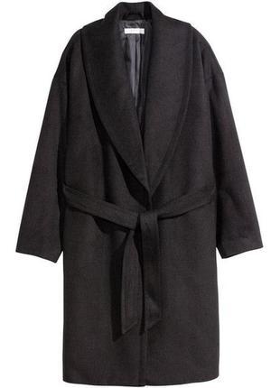 Шикарное классическое демисезонное пальто h&m conscious 🤩🤩🤩