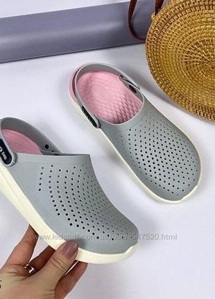 Сабо-кроксы женские
