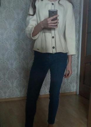Суперстильный тёплый шерстяной жакет пиджак 🤩🤩🤩