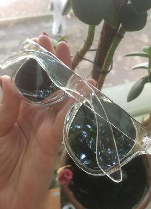 Распродажа 🔥🔥🔥новинка 2021!!прозрачная оправа/очки солнцезащитные2 фото