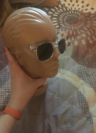 Распродажа 🔥🔥🔥новинка 2021!!прозрачная оправа/очки солнцезащитные4 фото
