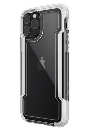 Противоударный чехол x-doria defense clear white для iphone 11 pro max