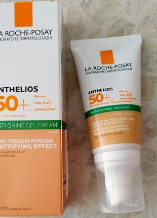 Солнцезащитный крем с тонирующим эффектом la roche-posay anthelios spf 50+