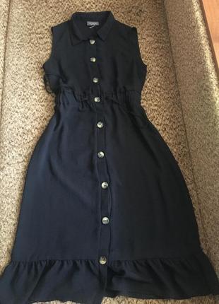 Красивое платье рубашка миди