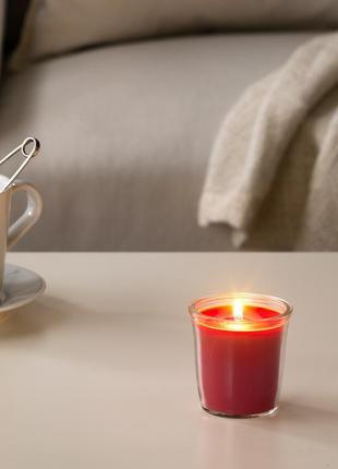 Набір 2 ароматичні свічки (ще з аром. ванілі )