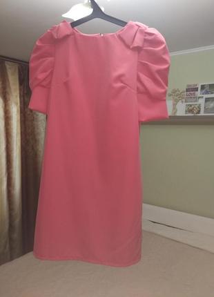 Новое платье кораллового цвета