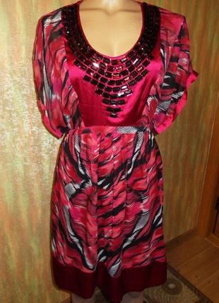 Платье betty jackson. black debenhams индия р. 12 евро 40 камни стразы кимоно