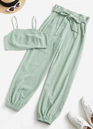 Костюм летний ( топ+брюки)