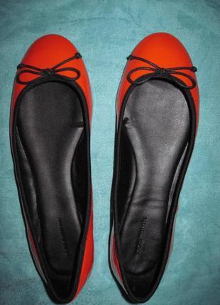 Zara trafaluc (37) балетки