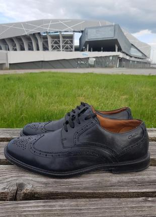 Туфли clark's броги оригінал з європи