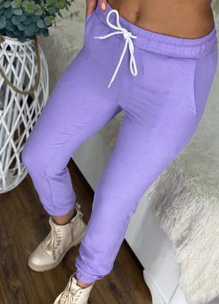 Женские повседневные брюки леггинсы джоггеры