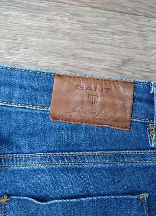 Джинсы гант. женские xs / подростковые. немецкий бренд gant джинс, брюки.7 фото