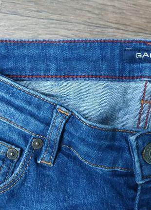 Джинсы гант. женские xs / подростковые. немецкий бренд gant джинс, брюки.4 фото