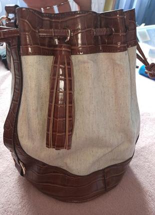 Новая сумка-мешок от next