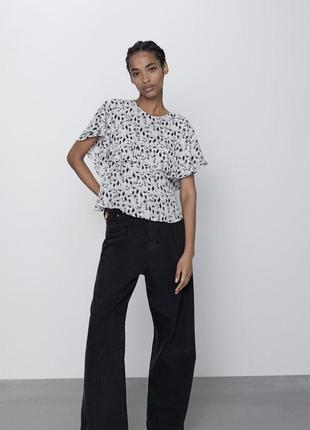 Блуза zara нова колекція!!1 фото