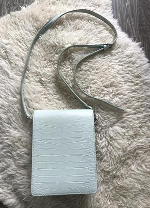 Сумка через плечо структурированная сумка мини сумка reserved