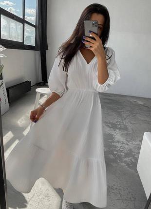 Платье летнее, женское, размер:42-44,46-48; 5091anv3 фото